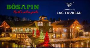 Certificat-cadeau de 1 000 $ à l'Auberge du Lac Taureau