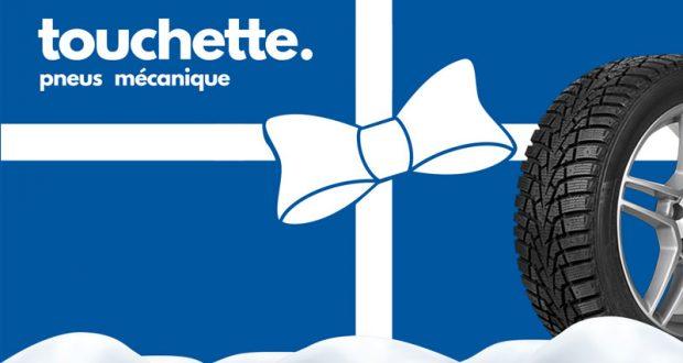 Chèque-cadeau Touchette Pneus Mécanique de 500$