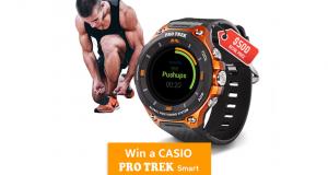 Gagnez un Casio Pro Trek Smart (WSD-F20) de 500 $