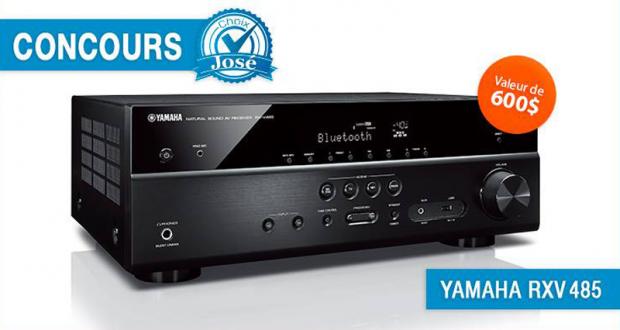 Récepteur audio-vidéo Yamaha RXV485 de 600$