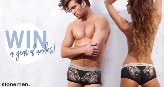Un an de sous-vêtements Stonemen (Valeur de 444 $)