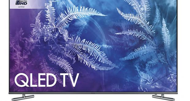 Un téléviseur Samsung QLED QN55Q6FAM