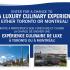 Voyage pour deux personnes à Toronto ou à Montréal