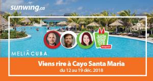 Voyages tout inclus pour deux à Cayo Santa Maria