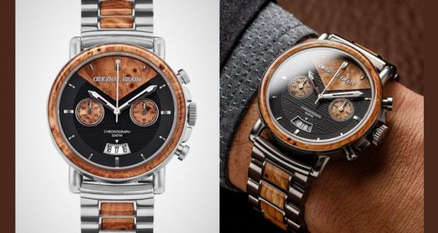 25 montres Original Grain (Valeur de 450 $ chacune)