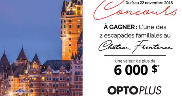 3 000 $ au Fairmont Le Château Frontenac à Québec