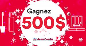 Carte-cadeau Jean Coutu d'une valeur de 500 $