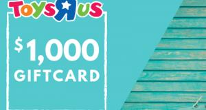 Carte-cadeau Toys'R'Us de 1 000 $