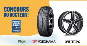 Ensemble de mags RTX et de pneus d'hiver Yokohama (valeur de 1500$)