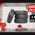 Gagnez un ensemble de 4 pneus posés et balancés