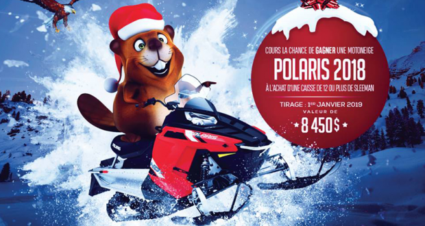 Gagnez une Motoneige Polaris INDY 550 2018