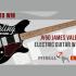 Guitare électrique James Valentine avec étui