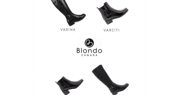 Paire de bottes Blondo collection Automne-Hiver 2018