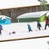 Séjour en famille dans un gîte de La Base de Plein-Air Air-Eau-Bois