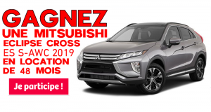 Un Eclipse Cross ES S-AWC 2019 en location 48 mois (4 ans)