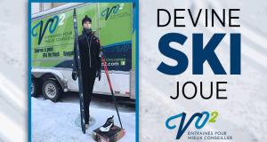 Un équipement complet de ski de fond pour dame