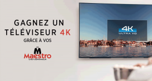 Un téléviseur 4K Ultra HD
