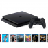 Une console Sony PlayStation 4 Slim 1 To + 10 jeux
