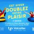 2 nuitées pour 4 à l'Hôtel Valcartier et 4 accès VVVIP