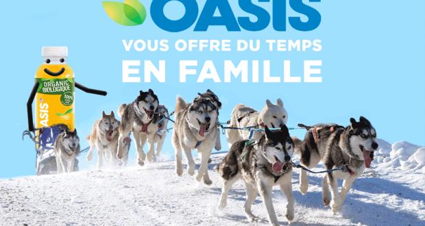 Activité familiale en traîneau à chiens (Valeur de 1 000 $)