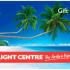 Gagnez 1 des 5 cartes-cadeaux Flight Center de 1 000 $