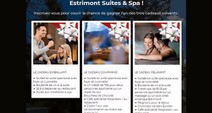 Gagnez l'un des 3 forfaits à l'Estrimont Suites & Spa