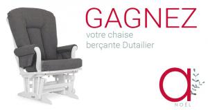 Gagnez votre chaise-berçante Dutailier (modèle 61B)