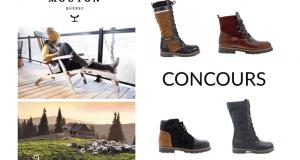 Paire de bottes Saute-mouton collection Automne-Hiver 2018
