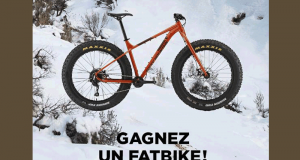 Un Fat Bike Rocky Mountain 10 2019 d'une valeur de 1200$