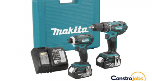 Un ensemble de 2 perceuses impacts MAKITA