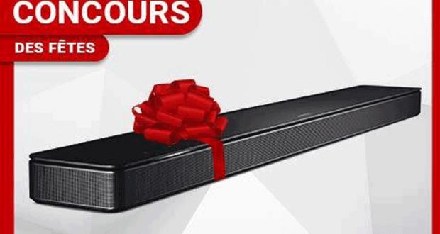 Une Barre de son Bose Soundbar 500 (Valeur 700$)