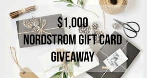 Une carte-cadeau Nordstrom de 1 000 $