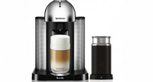 Une machine à capsules Nespresso VERTUO de Breville
