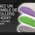 2 OREILLERS DE MOUSSE MÉMOIRE AU CHOIX