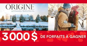 3 000 de Forfaits Ôrigine artisans hôteliers