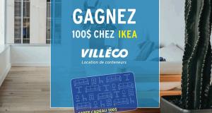 Gagnez 100$ chez IKEA