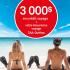 Gagnez 3000$ en crédit voyage + Votre Assurance voyage