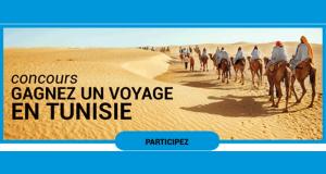 Gagnez un Voyage de 8 jours pour 2 personnes en Tunisie