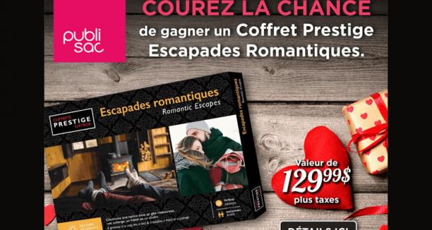 Un Coffret Prestige Escapades Romantiques