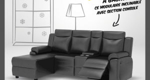 Un Modulaire inclinable avec section console (1249$)