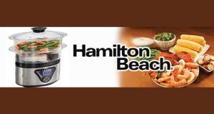 Un cuiseur vapeur Hamilton Beach
