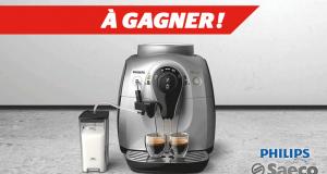 Une Machine à café Philips d'une valeur de 579$