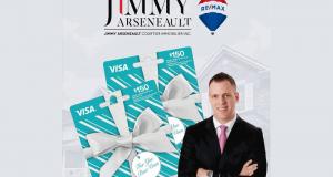 Une carte cadeaux VISA Prépayée de 300$