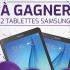 2 tablettes Samsung SMT560NZK TAB E 9.6 PO/QUAD CORE /16G