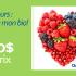 500$ d'épicerie en bio