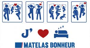 Carte-cadeau de 1 000 $ offerte par Matelas Bonheur