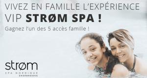 Expérience VIP en famille au Strøm Spa