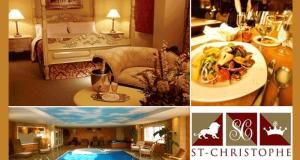 Forfait romantique au St-Christophe Hôtel boutique et spa
