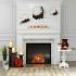 Foyer ainsi que le manteau décoratif (Valeur de 2000$)