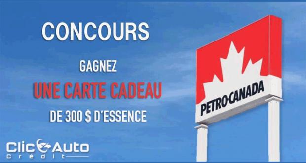 Gagnez 300$ d'essence